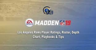 Rams 2017 Depth Chart Madden 19 Los Angeles Rams Player Ratings Roster Depth
