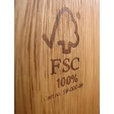 fsc certified seal secondly sustainable wood