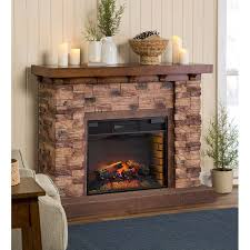 stone electric fireplaces plow amp hearth quartz infrared stone electric fireplace wayfair
