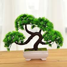 office bonsai. 18-20cm-Artificial-Bonsai-Tree-with-Pot-Potted- Office Bonsai E