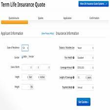 bmo term life insurance quote term life insurance canada quotes 44billionlater