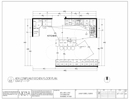 Kitchen Floor Plan - ADA Compliant; Kitchen floor plan modified should  client become handicapped. Island has been modified as well as cabinetry  and ...