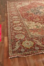 exquisite rugs fine serapi hand knotted dark red area rug 190667 jenna