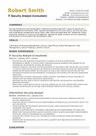 Program Analyst Resume Samples Best Of It Security Analyst Resume Sample Benialgebraincco