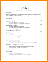 Resume Types Fascinating Perfect Ideas Types Of Resumes Different Kinds Resume Formats