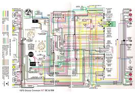 dodge charger r t se and 500 1970 complete wiring diagram dodge charger r t se and 500 1970 complete wiring diagram