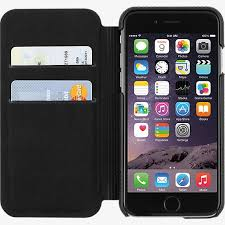 apple iphone 6 black. folio for iphone 6/6s - black leather apple iphone 6
