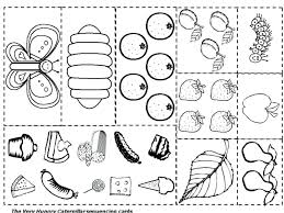 The Very Hungry Caterpillar Coloring Pages Very Hungry Caterpillar