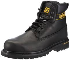 Designer Steel Toe Boots Caterpillar Cat Footwear Holton Steel Toe Mens Work And Safety