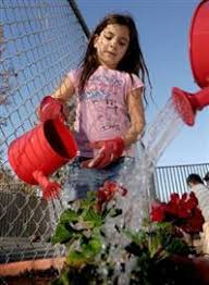 In Moorpark, Mountain Meadows students plant winter crops