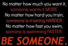 Make the competition fear you. | We the Swimmers | Pinterest ... via Relatably.com