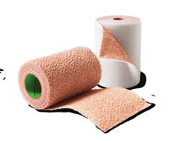 3M™ Coban™ 2 Layer Compression System, Below the knee (large circumference), 2 rolls (8 of each layer), 8 boxes (*)