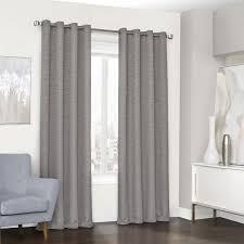 Single window curtain Treatment Ideas Eclipse Randall Grommet Single Window Curtain Panel 52 Souqcom Eclipse Randall Grommet Single Window Curtain Panel 52