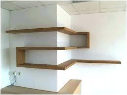 Do It Yourself Corner Shelves Simple Diy Corner Wall Shelves Zversoftware