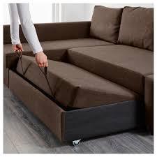 FRIHETEN Sleeper sectional,3 seat w/storage - Skiftebo dark gray - IKEA