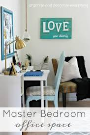 organizing office space. Master Bedroom Office Space. Carving-out-space-in-the-master Organizing Space