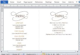 Word Templates Menu Best Thanksgiving Templates For Microsoft Word