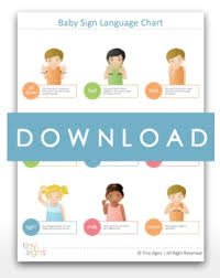 Baby Sign Language Chart Free Printable Baby Sign Language Chart The Savvy Bump