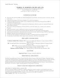 Examples Of Nurse Resume Or Nurse Resume Samples Fast Lunchrock Co