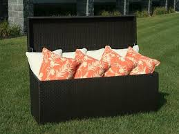 elegant outdoor wicker storage box for patio furniture cushions part 2
