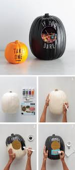 halloween candy bowl ideas. Interesting Candy Combine Your Halloween Dcor And Candy Bowl Into One Get The Message  Across With Alphabet Stencils Craft Paint From Martha Stewart Crafts Intended Candy Bowl Ideas