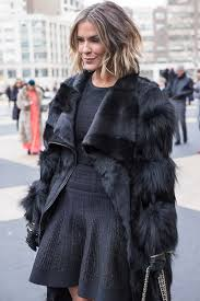 fur coats worn by women over 40 during new york fashion week 40plusstyle com