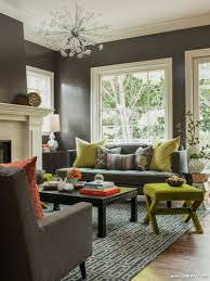 Green Accent Color Living Room