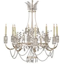 Swedish Crystal Chandelier from Niermann Weeks - Traditional Chandeliers -  Dering Hall