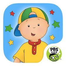 caillou let s pretend app in this pbs kids app explore with dinosaurs discover