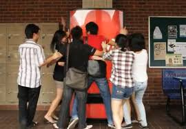 Free Money From Vending Machine Custom New CocaCola Vending Machine In Asia Takes Hugs Instead Of Money