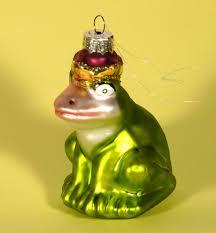 Details Zu Christbaumschmuck Glas Christbaumkugel Frosch Froschkönig Ornament Klein 75 Cm