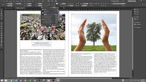 Indesign Magazine Creating A Mock Magazine Spread With Indesign