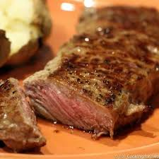 pan seared oven roasted strip steak