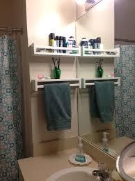 best and smartest diy small bathroom storage hacks