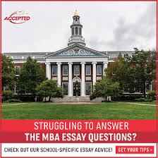 sample harvard business school application essay