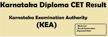 karnataka diploma cet result merit list cut off marks karnataka diploma cet result 2018