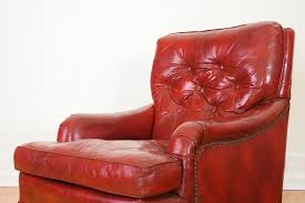 red leather chair. Modren Leather Red Leather Chair U0026 Ottoman Inside Z
