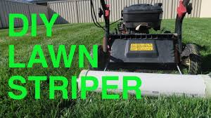 diy lawn striper lawn striping kit