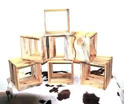 wooden cubes furniture. Solid Oak Cube Furniture Wood Storage Bookcase Shelves Unit Trendy Wooden Cubes Ideas Vintage W .