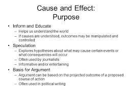 cause and effect visual cause and effect 1 turn in visual essay and outside reading 2 what