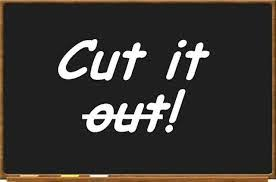 Image result for cutting words