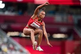 Yulimar rojas campeona olímpica en el salto triple en tokio 2020 con record mundial con una marca de 15,67 metros atletismo colombiano Gzgiqfy9p9nztm