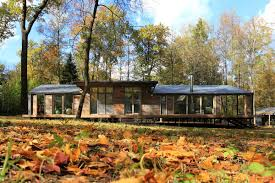 Small Picture Airy modern prefab cabin was built for 80000 Curbed