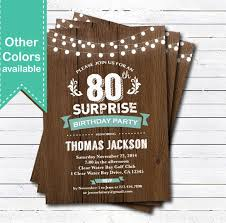 Surprise Birthday Party Invitation Template Inspirational 49