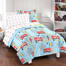 image of fire truck bedding twin awesome engine duvet cover uk toddler