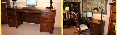 custom solid wood amish made home office furniture from amish custom furniture and accents serving amish built home office