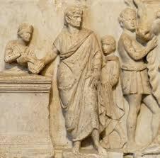 Risultati immagini per religione romana incisione