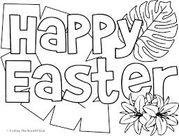 Easter Color Pages Free Christian Coloring Pages Free Happy Coloring