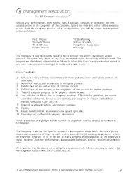 Free Templates Employee Discipline Form Template Employee