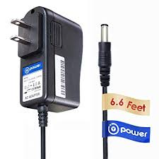 t power 6 6ft long cable ac dc adapter for weslo fitness quest